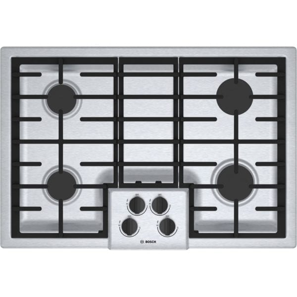 """31"""" Gas Cooktop Stainless steel"""