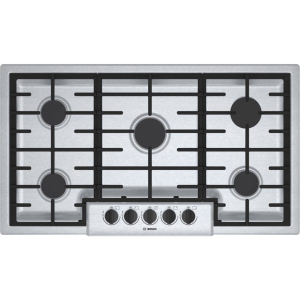"37"" Gas Cooktop Stainless steel"