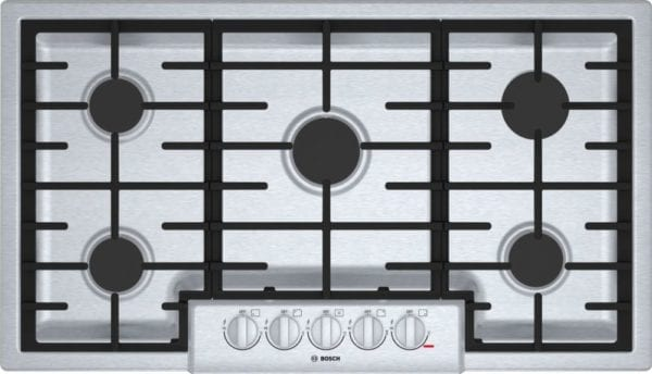 """37"""" Gas Cooktop Stainless steel"""