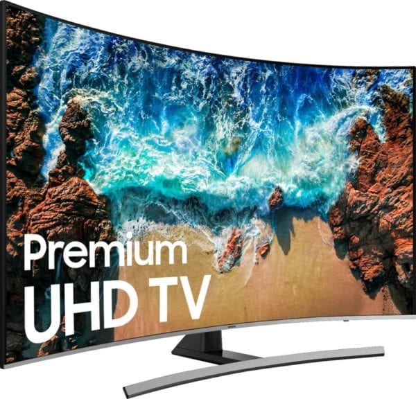 "65"" Class LED Curved NU8500 Series 2160p Smart 4K UHD TV with HDR"