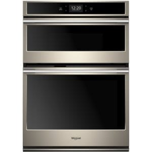 """30"""" Double Electric Convection Wall Oven with Built-In Microwave"""
