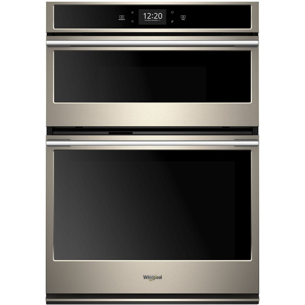 30 Double Electric Convection Wall Oven With Built In Microwave