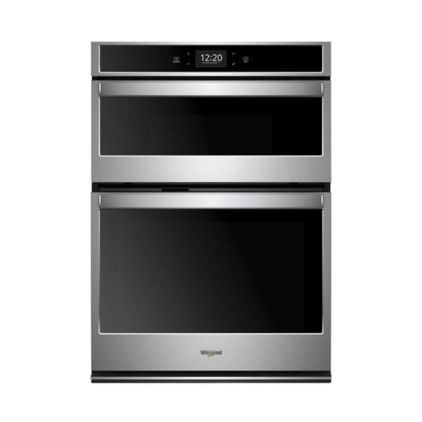 """30"""" Double Electric Convection Wall Oven with Built-In Microwave Stainless steel"""