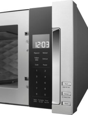 1.1 Cu. Ft. Over-the-Range Microwave with Sensor Cooking Stainless steel