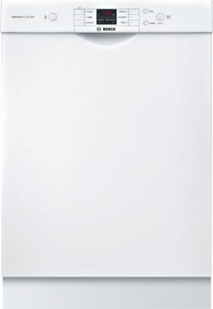 """24"""" Front Control Built-In Dishwasher with Stainless Steel Tub"""