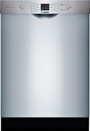 """24"""" Front Control Built-In Dishwasher with Stainless Steel Tub Stainless steel"""