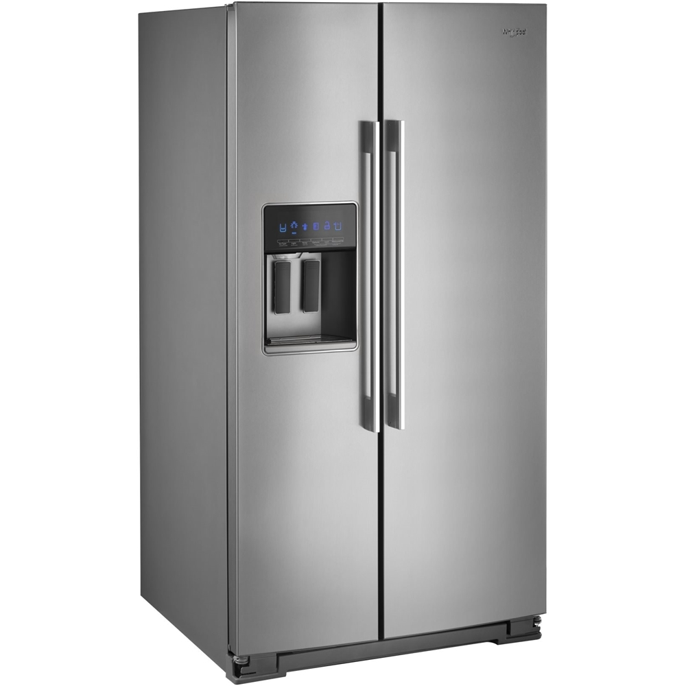 28.5 Cu. Ft. Side-by-Side Refrigerator Stainless steel