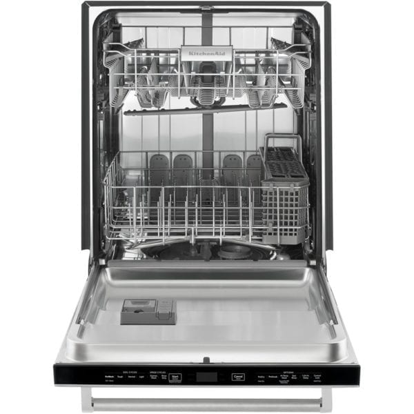 "24"" Top Control Tall Tub Built-In Dishwasher with Stainless Steel Tub Stainless steel"