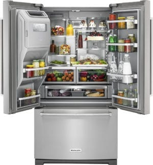 26.8 Cu. Ft. French Door Refrigerator Stainless steel