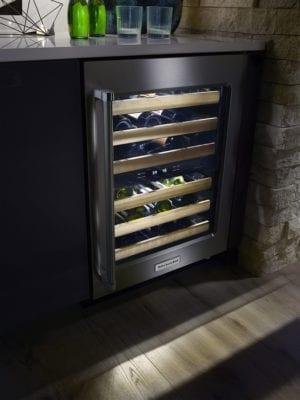 46-Bottle Wine Cellar Stainless steel
