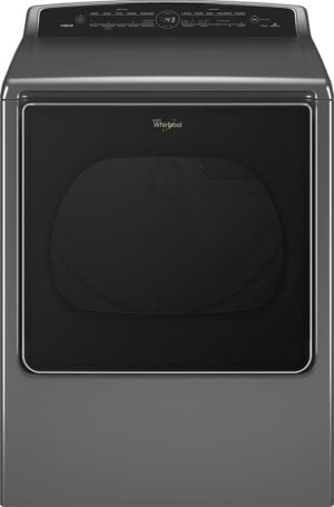 Cabrio 8.8 Cu. Ft. 23-Cycle Electric Steam Dryer With Wi-Fi Connectivity