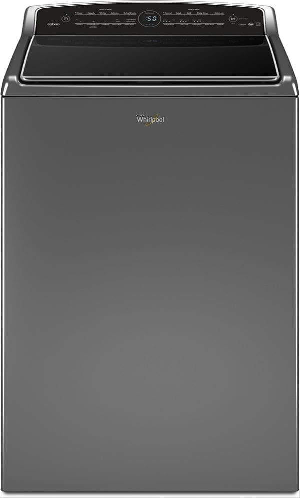 Cabrio 5.3 Cu. Ft. 26-Cycle High-Efficiency Top-Loading Washer With Wi-Fi Connectivity