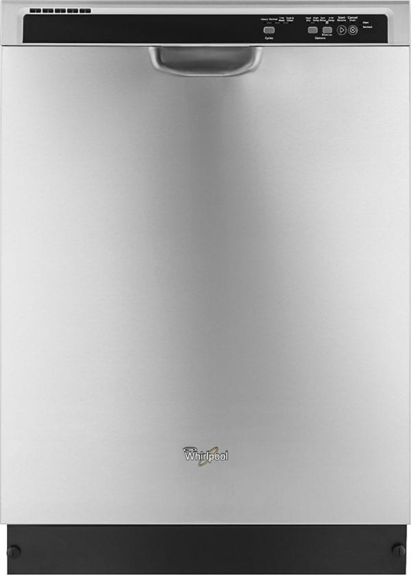 """24"""" Tall Tub Built-In Dishwasher Monochromatic Stainless Steel"""