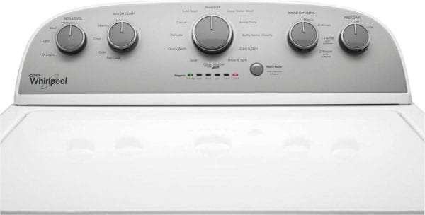 Cabrio 4.3 Cu. Ft. 12-Cycle High-Efficiency Top-Loading Washer