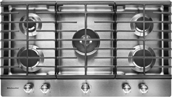 """36"""" Built-In Gas Cooktop Stainless steel"""