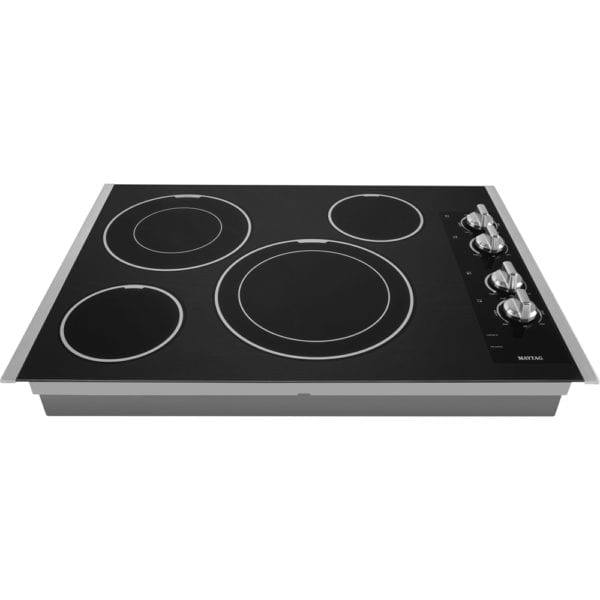 """30"""" Electric Cooktop Stainless steel"""