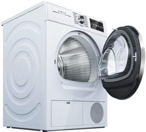800 Series 4.0 Cu. Ft. 15-Cycle High-Efficiency Compact Electric Dryer