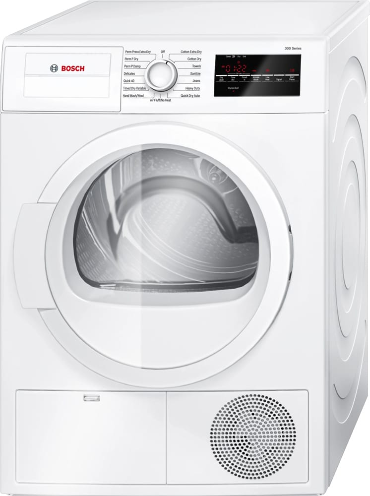 300 Series 4.0 Cu. Ft. 15-Cycle Compact Electric Dryer