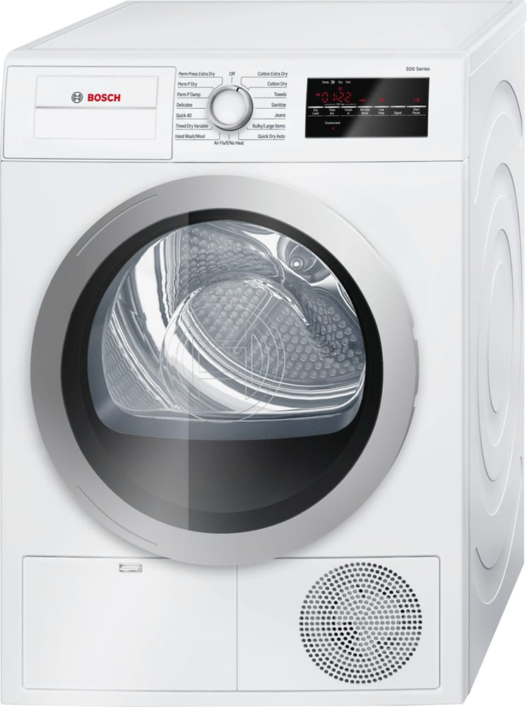 500 Series 4.0 Cu. Ft. 15-Cycle High-Efficiency Compact Electric Dryer