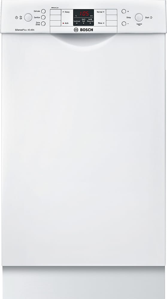 """300 Series 18"""" Front Control Tall Tub Built-In Dishwasher with Stainless-Steel Tub"""
