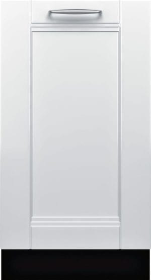 "800 Series 18"" Hidden Control Tall Tub Built-In Dishwasher with Stainless-Steel Tub Custom Panel Ready"