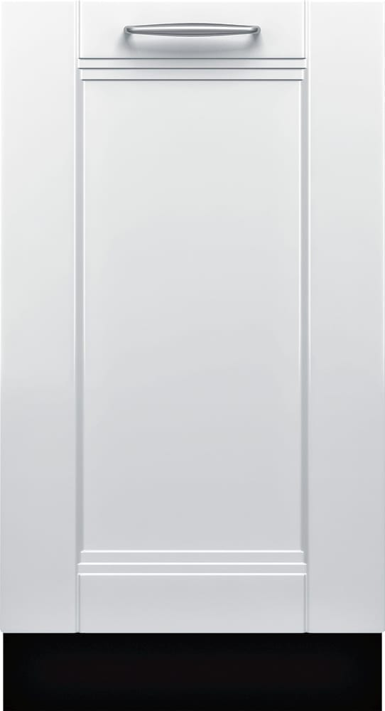 """800 Series 18"""" Hidden Control Tall Tub Built-In Dishwasher with Stainless-Steel Tub Custom Panel Ready"""
