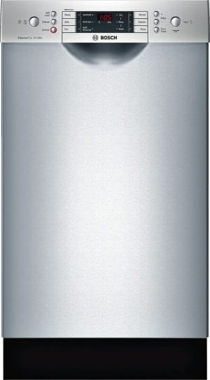 """800 Series 18"""" Front Control Tall Tub Built-In Dishwasher with Stainless-Steel Tub Stainless steel"""