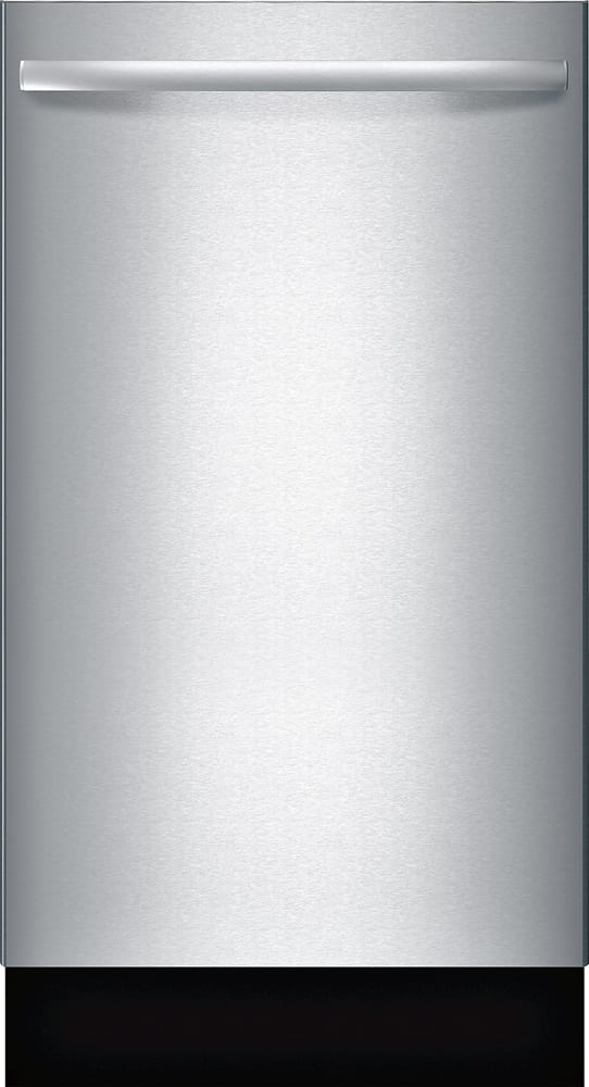 """800 Series 18"""" Hidden Control Tall Tub Built-In Dishwasher with Stainless-Steel Tub Stainless steel"""