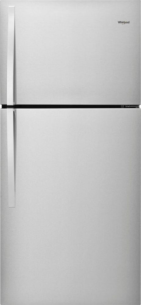 19.3 Cu. Ft. Top-Freezer Refrigerator Monochromatic Stainless Steel