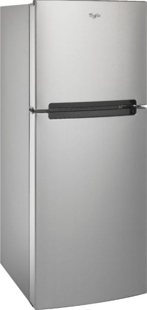 10.6 Cu. Ft. Frost-Free Top-Freezer Refrigerator Stainless steel