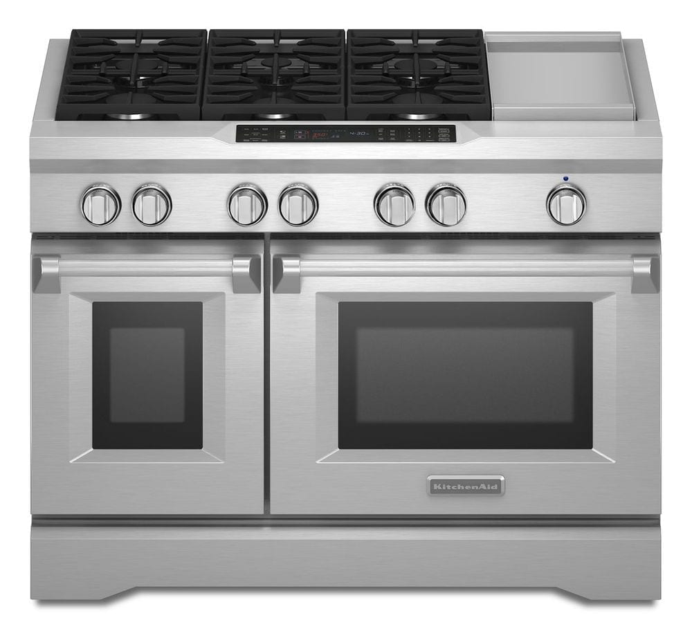Ft Self Cleaning Freestanding Double Oven Dual Fuel Convection Range