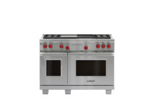 /wolf/ranges/dual-fuel/48-inch-dual-fuel-range-4-burners-infrared-charbroiler-infrared-griddle