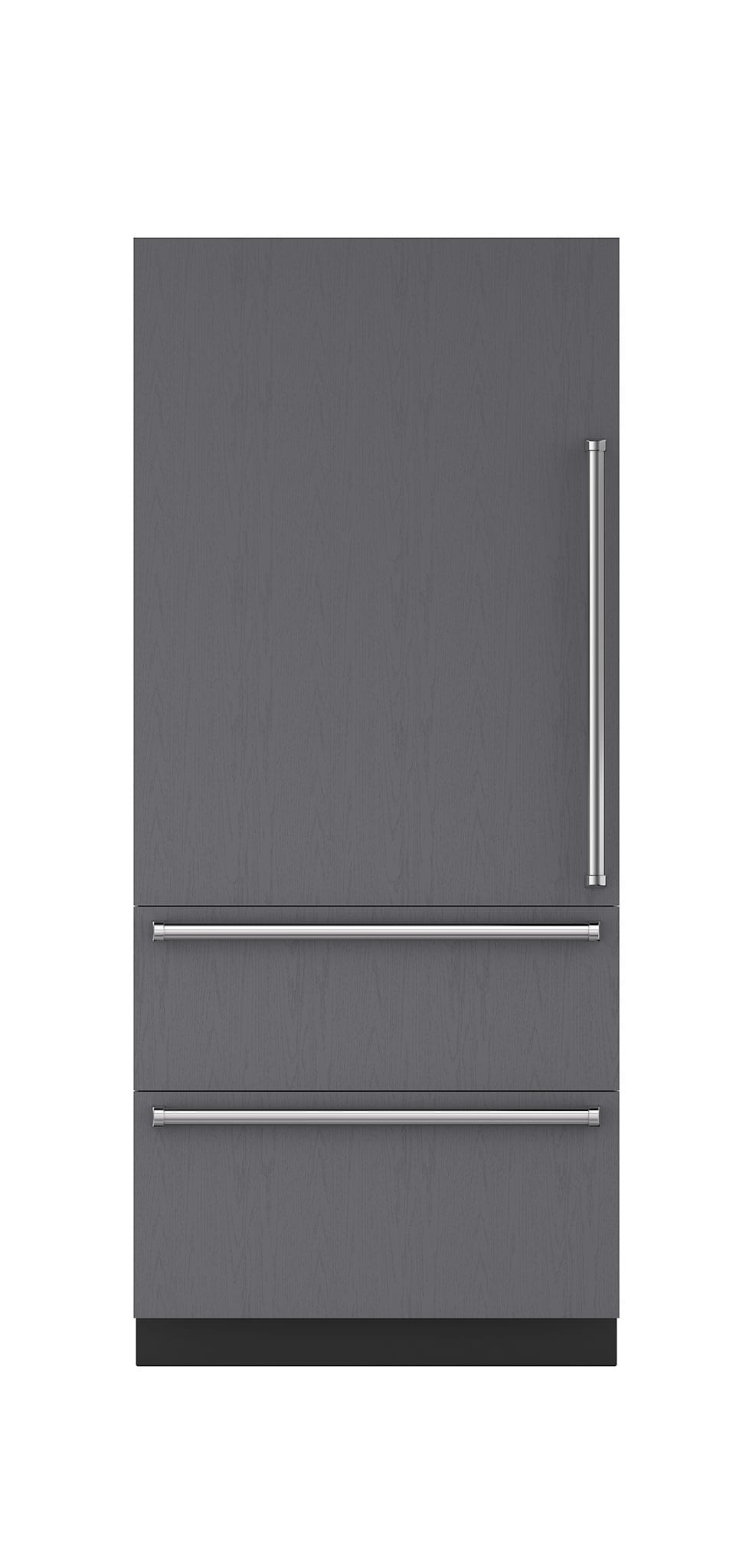 Sub Zero 36 Integrated Over And Under Refrigerator Freezer With Internal Dispenser Ice Maker Panel Ready It 36ciid