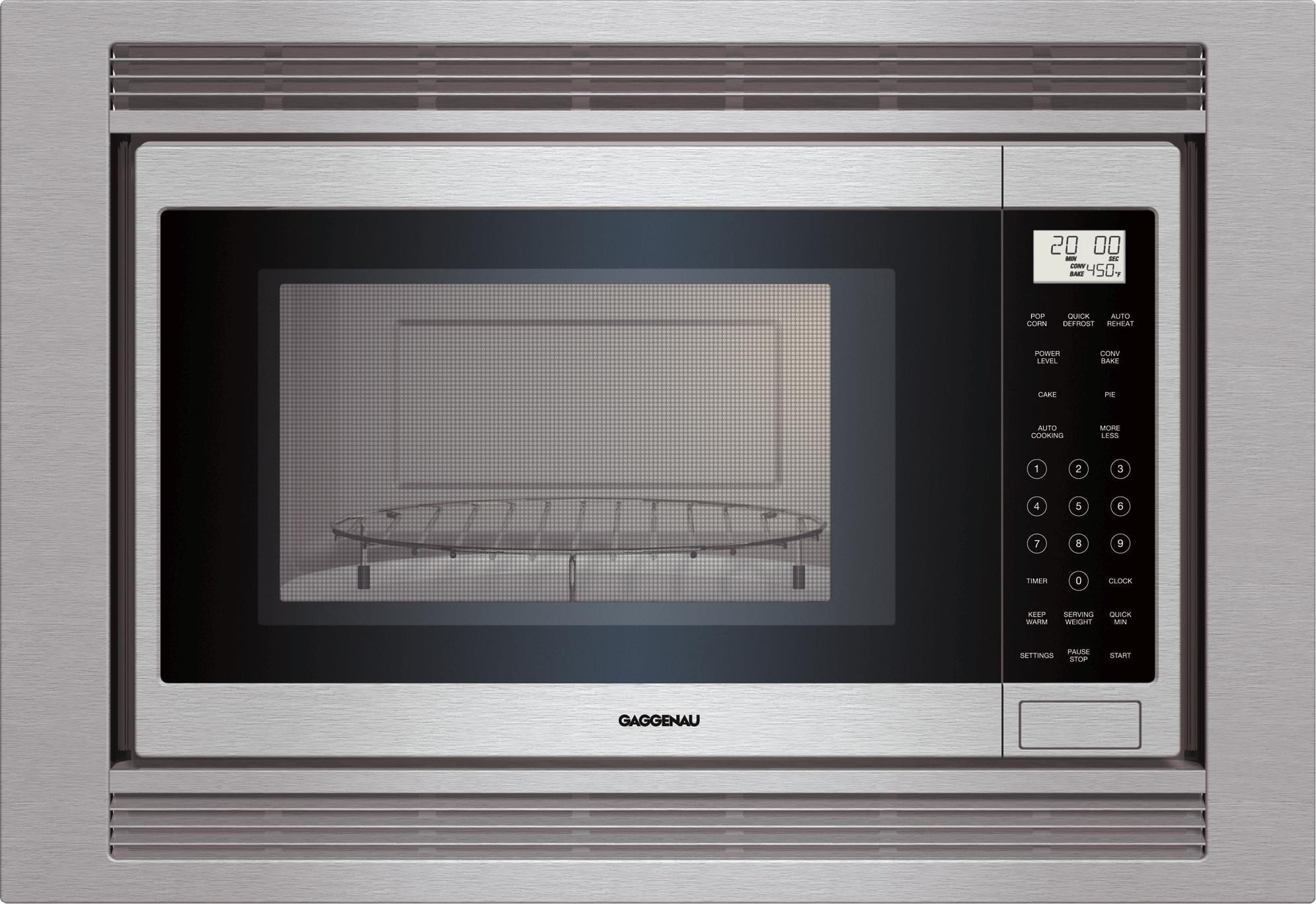 Microwave Convection Oven Stainless Steel Left Hinged