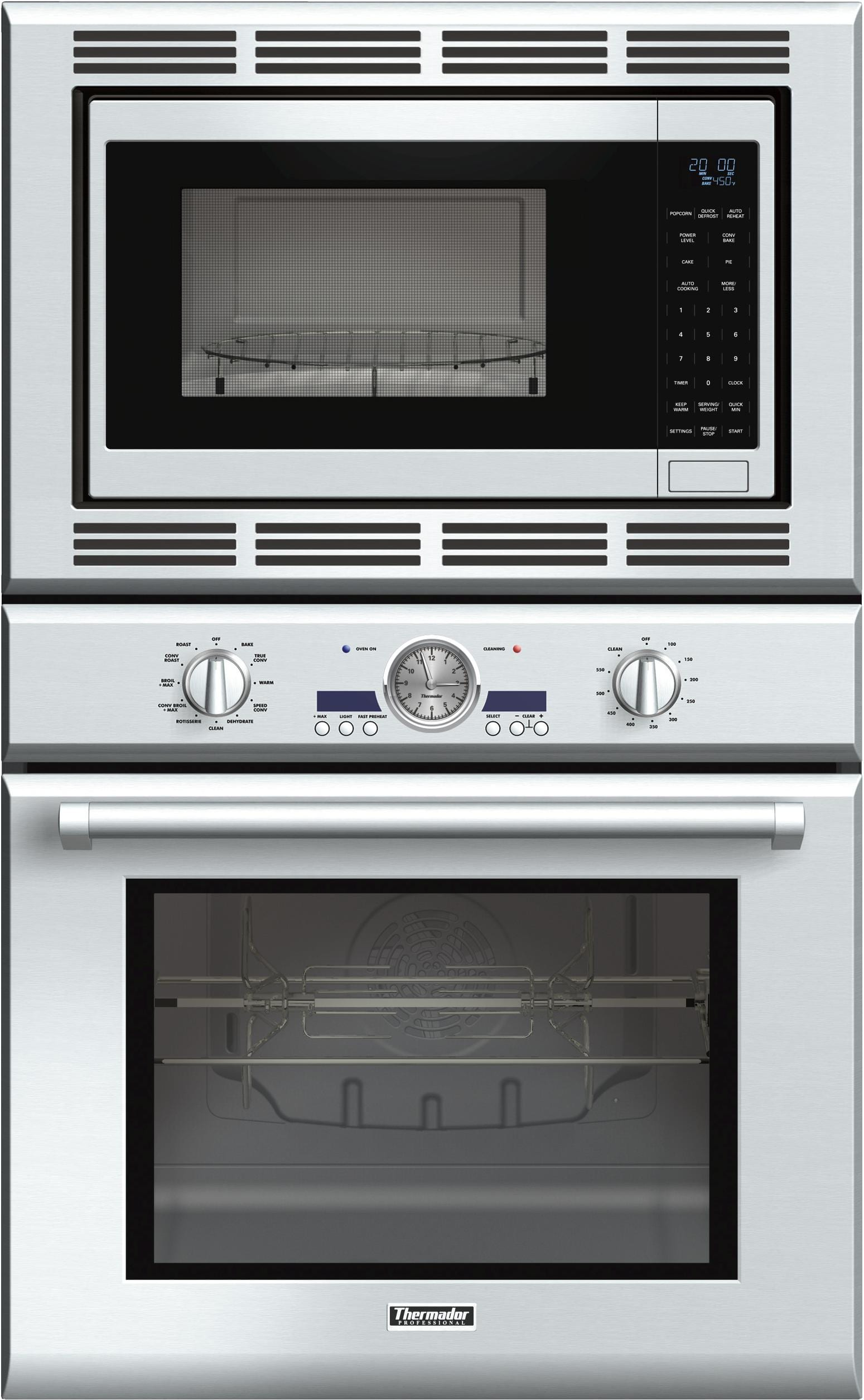Thermador 30 Professional Series Combination Oven And Convection Microwave Podm301j