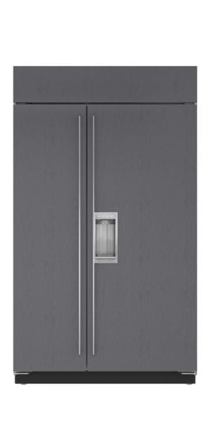 /sub-zero/full-size-refrigeration/builtin-refrigerators/48-inch-built-in-side-by-side-refrigerator-freezer-dispenser-panel-ready
