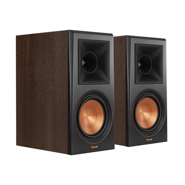 Klipsch RP-600M Bookshelf Speaker - Walnut