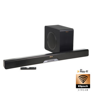 Klipsch RSB-14 Sound Bar + Wireless Subwoofer