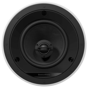"""6"""" 2-Way In-Ceiling Speakers (Pair) White/Black"""