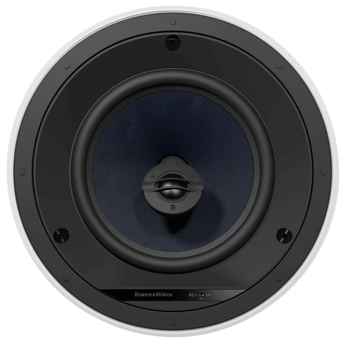 """8"""" 2-Way In-Ceiling Speakers (Pair) White/Black"""