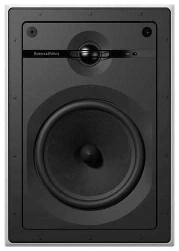 """6"""" 2-Way In-Wall Speakers (Pair) White/Black"""