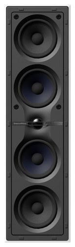 "CWM Cinema 7 Dual 4"" 2.5-Way In-Wall Speaker System Black/White"