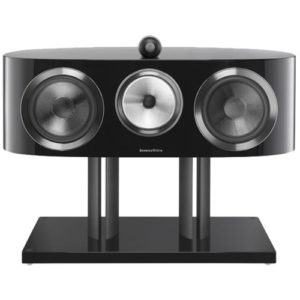 "800 Series Diamond Dual 8"" Passive 3-Way Center-Channel Speaker Gloss black"