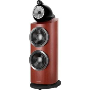 "800 Series Diamond Dual 10"" 3-Way Floorstanding Loudspeaker (Each) Rosenut"