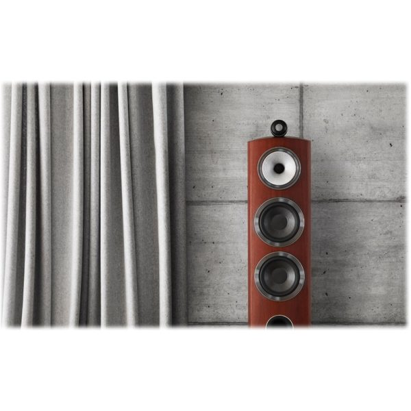 "800 Series Diamond Dual 6-1/2"" Passive 3-Way Floor Speaker (Each) Rosenut"