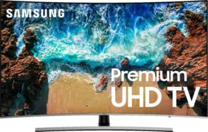 """55"""" Class LED Curved NU8500 Series 2160p Smart 4K UHD TV with HDR"""