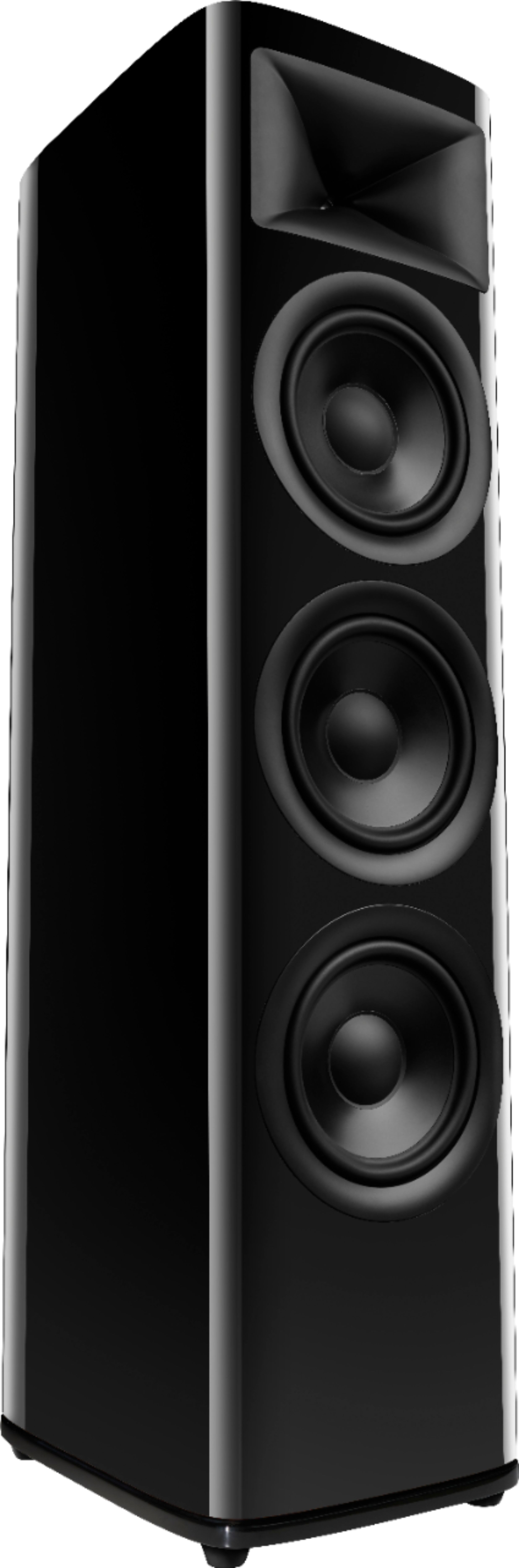 """HDI3800 Triple 8-inch 2-1/2 way Floorstanding Loudspeaker with 1"""" compression tweeter, gloss finish"""