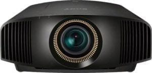 4K HDR Home Theater Projector BLACK
