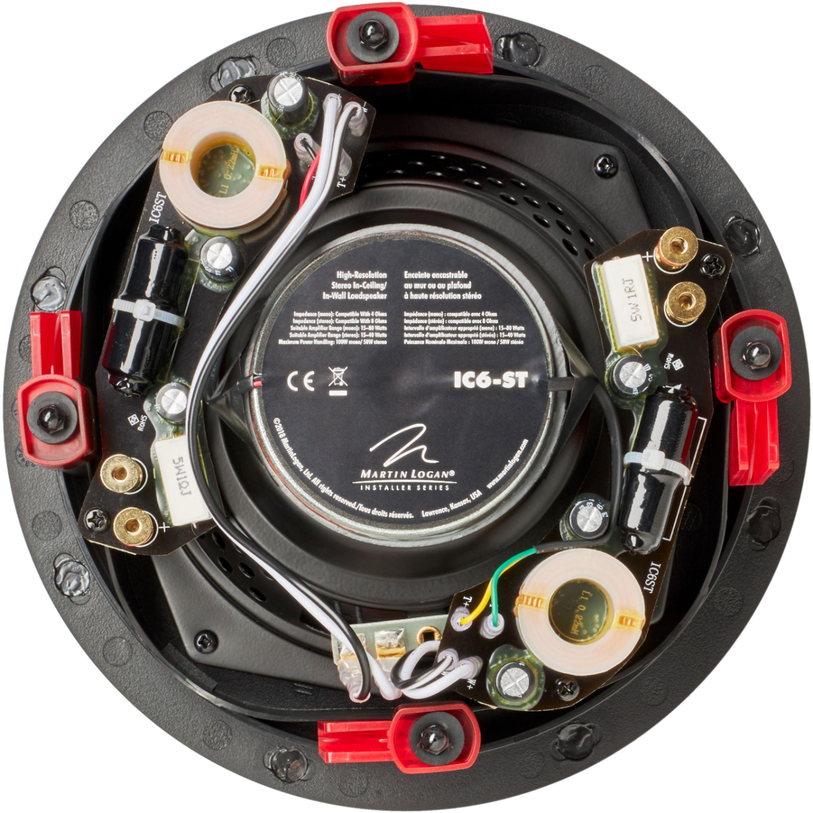 """Installer 6-1/2"""" 100-Watt Passive 2-Way In-Ceiling Speaker (Each)"""