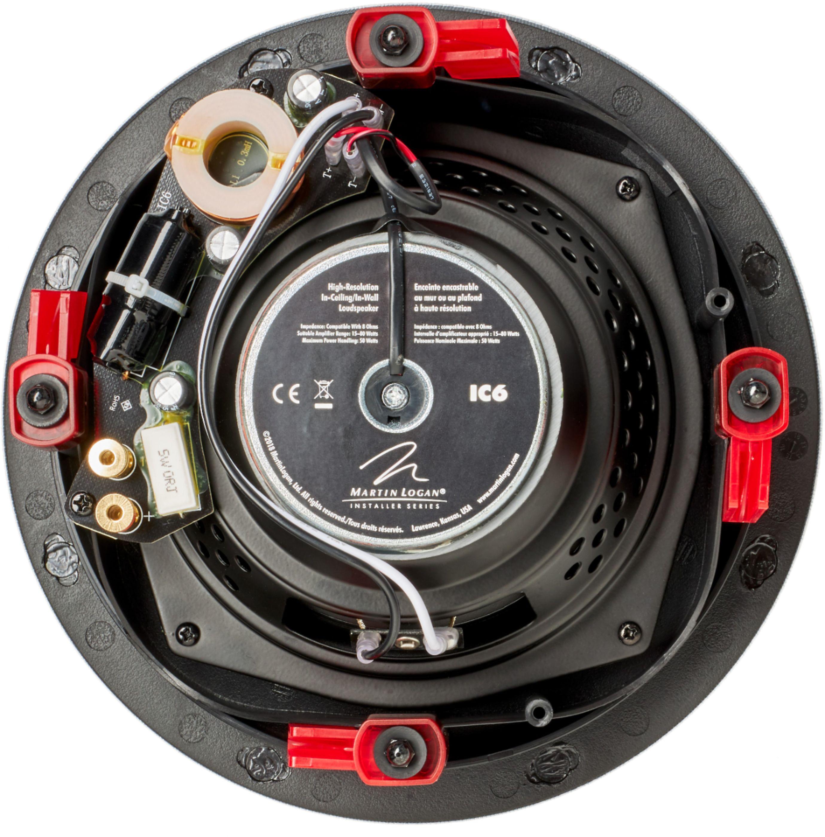 """Installer 6-1/2"""" 50-Watt Passive 2-Way In-Ceiling Speaker (Each)"""